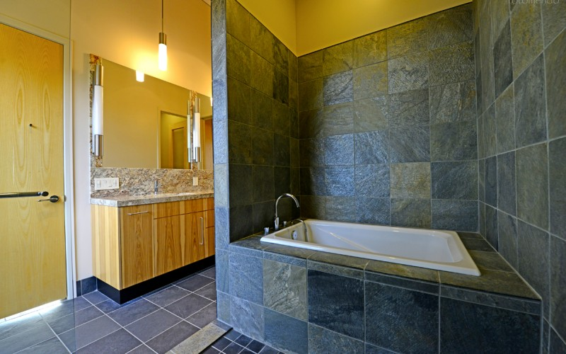Stone Tub Enclosure